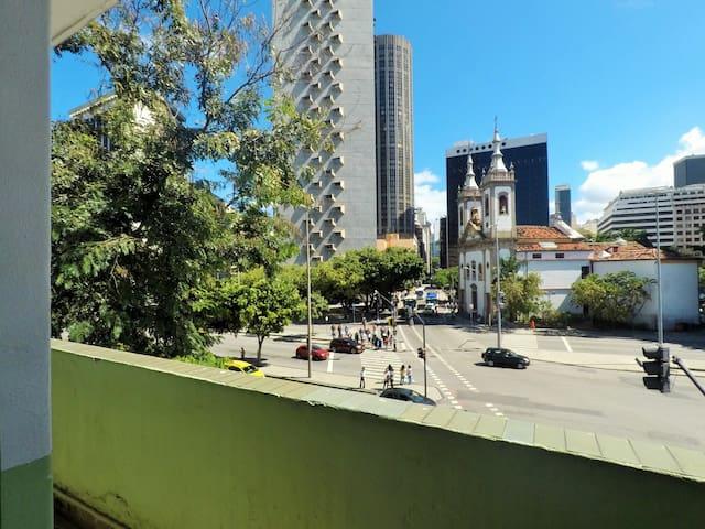 Quarto centro do Rio 2 pessoas - 01