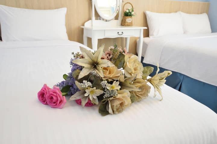 蕾朵兒 B302 / 溫馨4人房,台東卑南,交通便利,高CP值、平價溫馨、靠近火車站、史前博物館