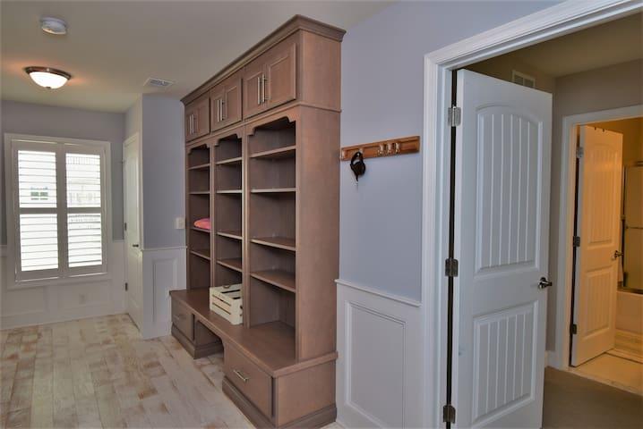 First floor storage/ mudroom