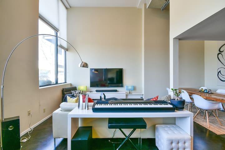 Modern Loft Studio in Seattle
