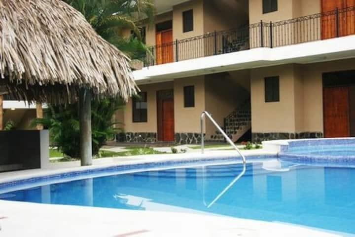 Condominio de 2 habitaciones en Playa Hermosa