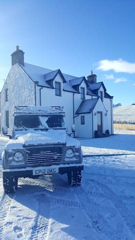 Family Friendly near Aviemore breath taking views - Kingussie - Casa