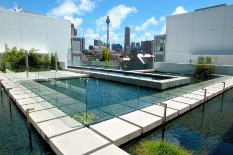 30 metre heated pool