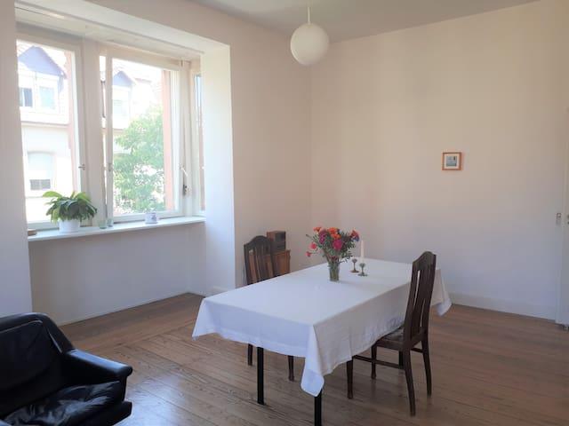 Großes Zimmer in heller Altbauwohnung