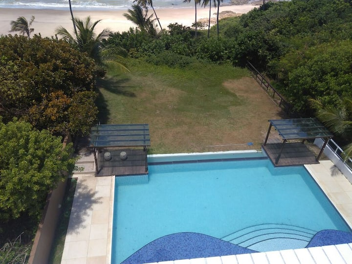 Flat beira-mar praia de Carapibus-Conde/PB