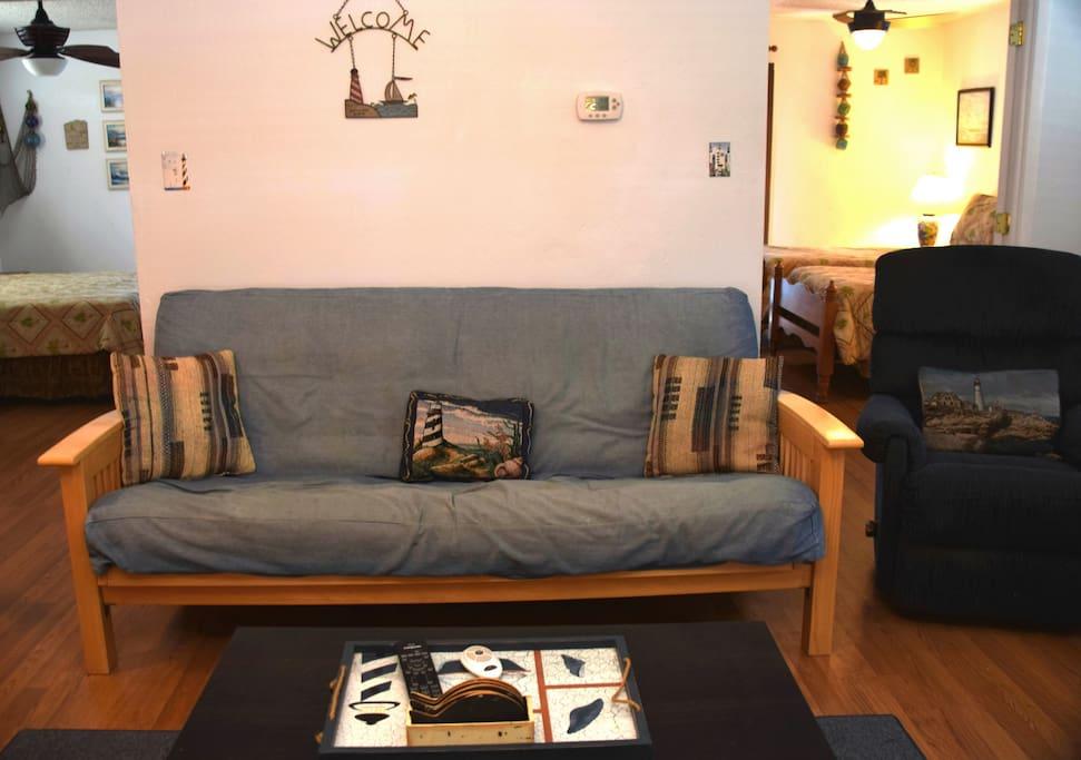 Couch, Furniture, Floor, Flooring, Indoors