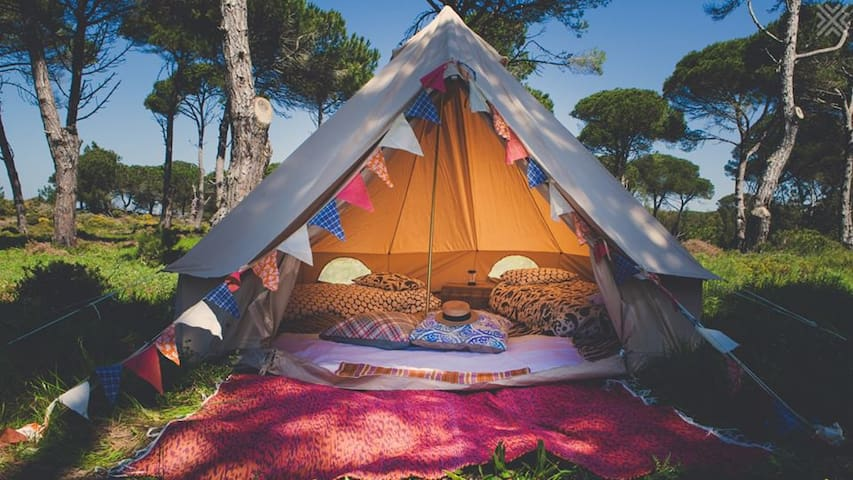 Glamping near the beach, Sintra, 30 m from Lisbon