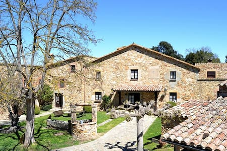 luxury and nature in a country house from s. XVI - Llagostera - Vila