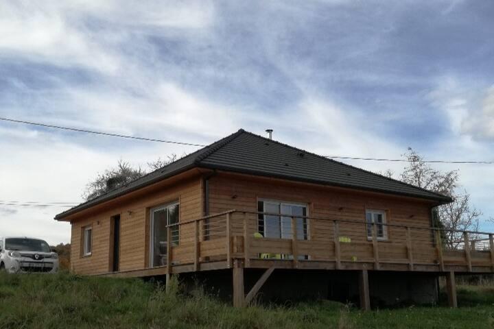 Chalet tout neuf de 90m² avec terrasse