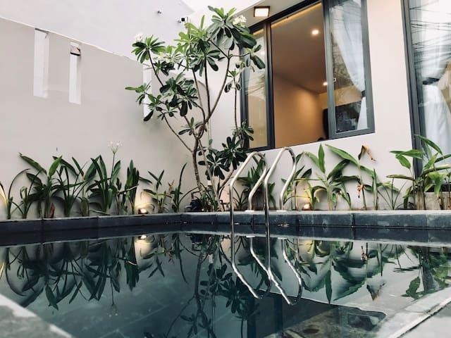 TLSale 30%-Private Pool-2 mins walk to Mykhe Beach