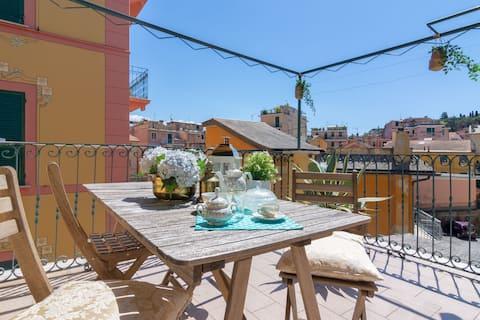 CASA FRANCESCA > 3BDR, pour 6 personnes, avec terrasse