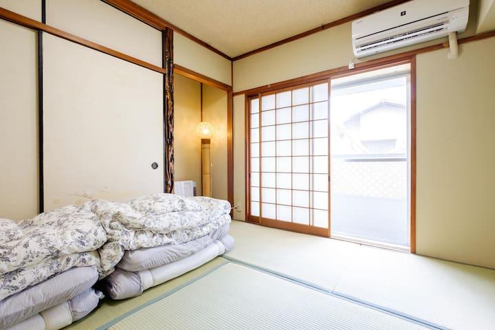 JP style room tatami.Kyoto sta.10min by walk#202 - Kyōto-shi