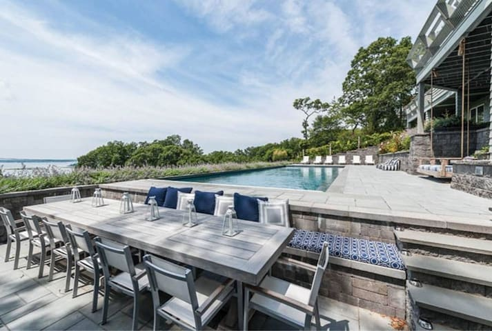 Spectacular Shelter Island Water Views