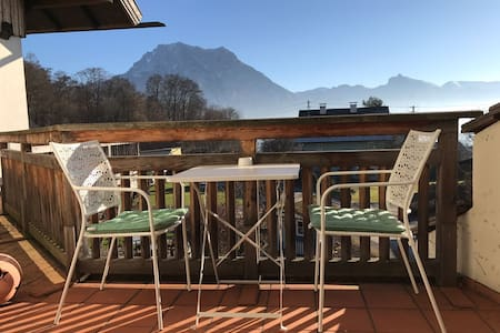 Lakeview - duplex room with balcony - Altmünster am Traunsee - Huis