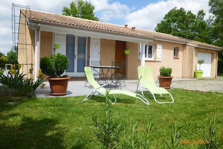Cosy Home T4 entre GERS et TOULOUSE -Grand jardin - Saiguède - Hus