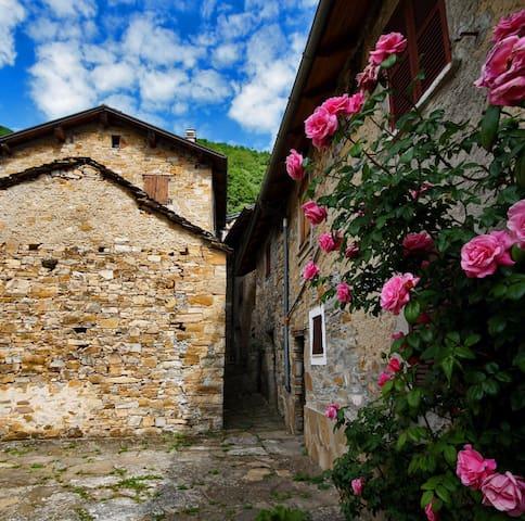 La tua terrazza sulla Val Boreca - Tartago - บ้าน