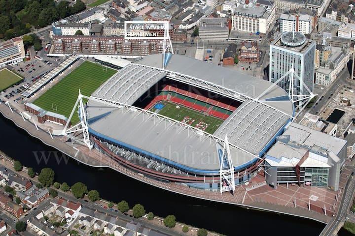 Stadium View Apartment