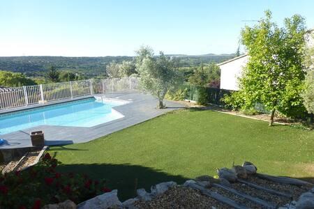 Vacances au calme à 15km de Montpellier !