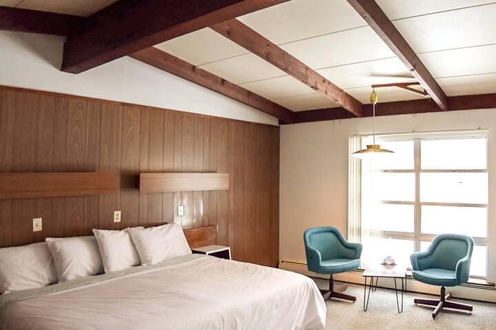 Mid-Century Simplicity (Grayhaven Motel - Rm #14)