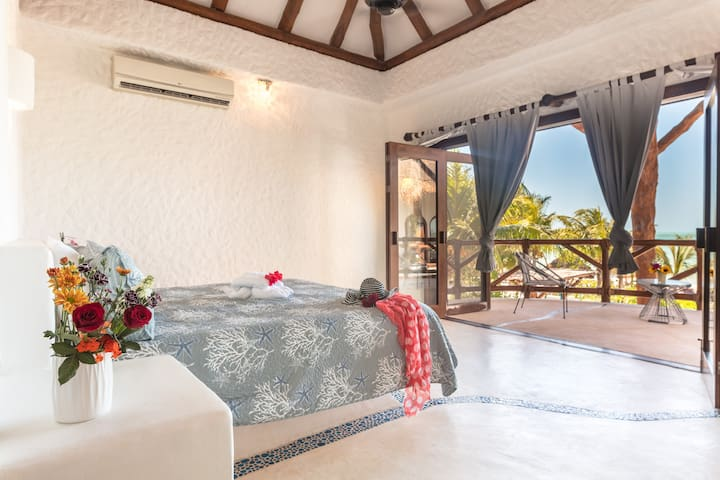 Casa Mariposa (Orchid) in Holbox