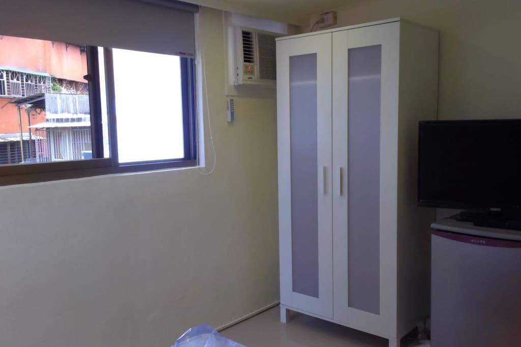 冰箱冷氣電視衣櫃置物空間