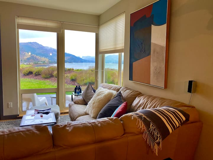 Be blown away by the view of the Columbia Gorge