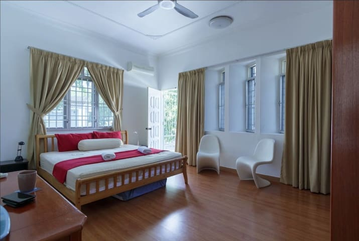 Large Bedroom with Private Balcony