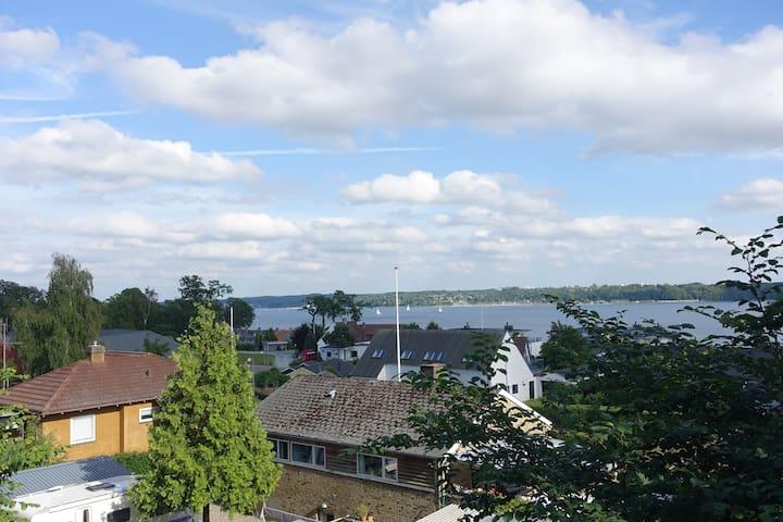 Lille lejlighed med Fjordblik..