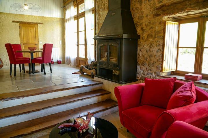 Location longue durée. Passer l'hiver en Dordogne