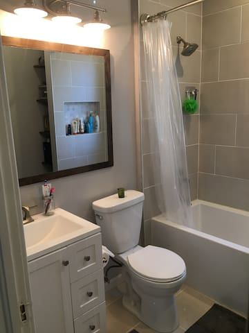 Brand new remodeled Bathroom