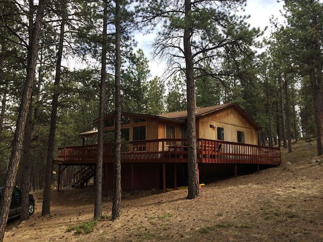 Wooded 5 Acre Peaceful Cozy Mountain Cabin Retreat