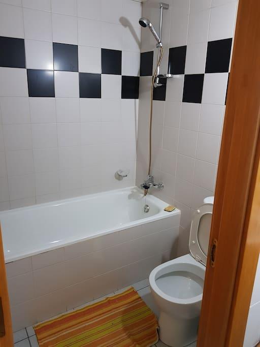 Salle de bain occupants