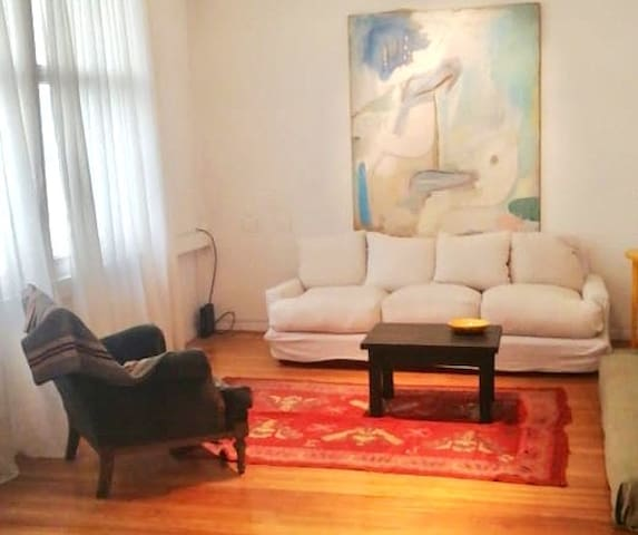 Huge and cozy full apartment close in downtown.