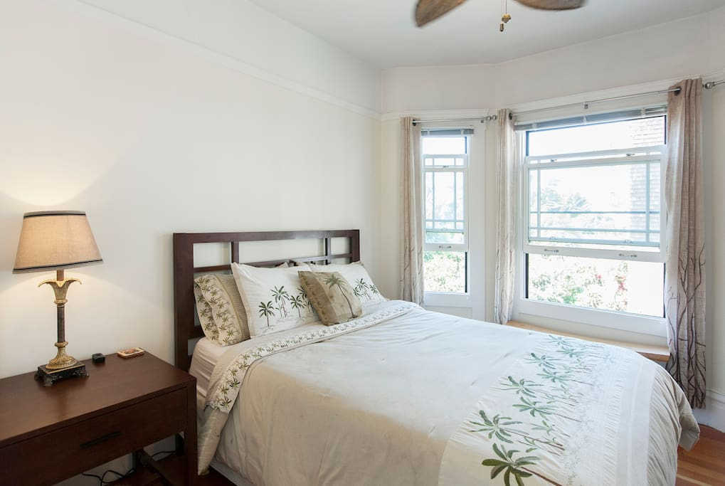 Master Bedroom In The Castro Apartments For Rent In San