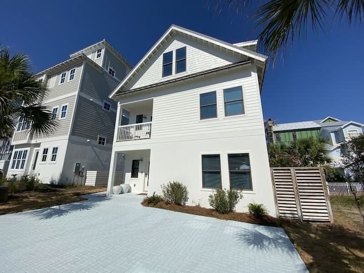 Cottages at Inlet Beach - Private Beach Access - Gulf Views - Sleeps 7