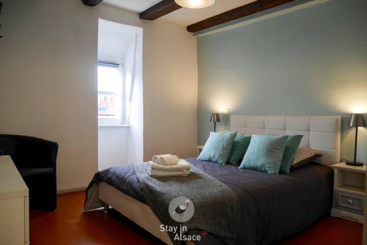 Chambre 2 lit 140/200 cm