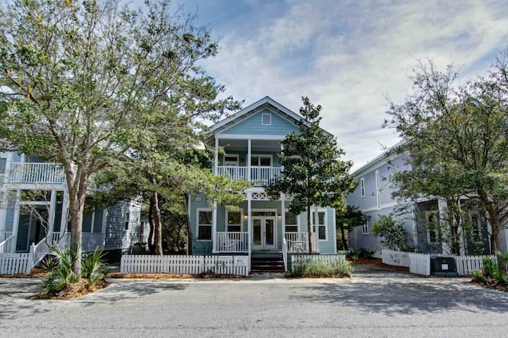 Stylish 30A Beach Home - Heated Pool - Grill - Large Balconies - Amenities!!! - Seagrove Beach - House