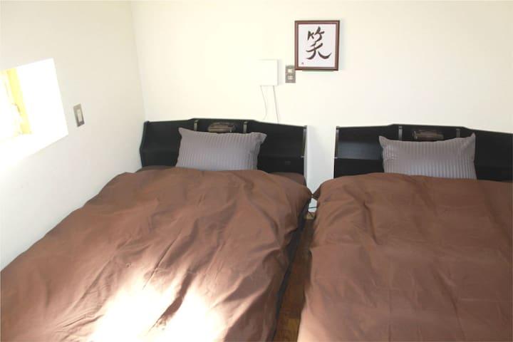 Twin room(5 min to SKYTREE)Nice hostel Yotsugi