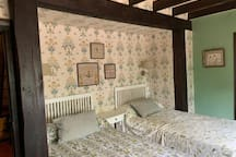 El molino de las eras, habitación de dos camas.