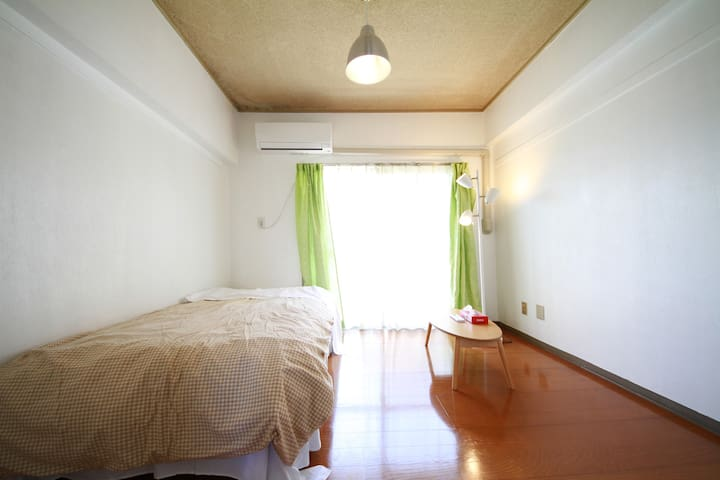cozy simple one room free wifi 7min from inakita - Ina
