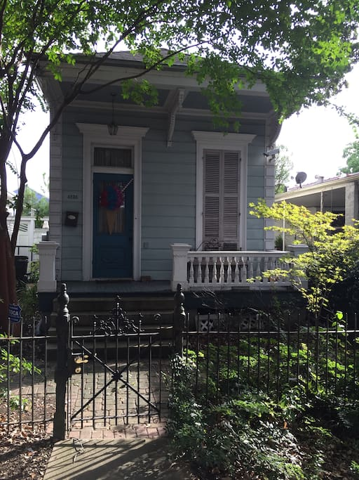 1 bedroom 1 bath shotgun in mid city houses for rent in - 1 bedroom houses for rent in new orleans ...