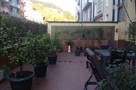 Large flat, cozy, quiet and spacious terrace. - Eibar