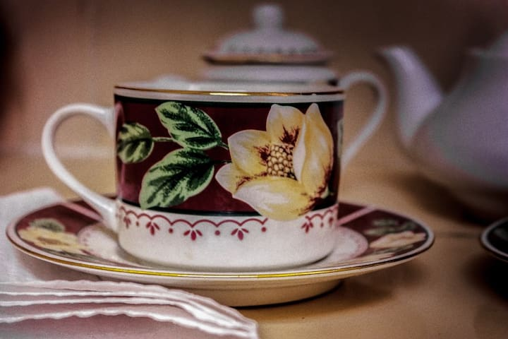 A cup of tea of my grandmother