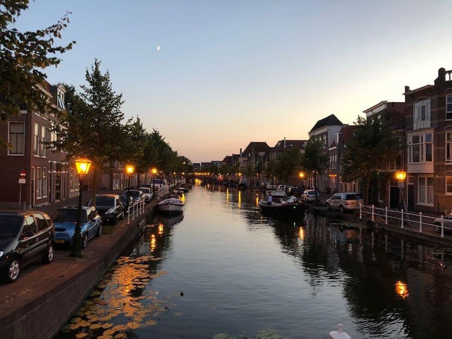 Canals of Leiden