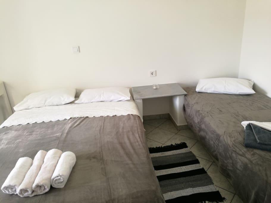 Κρεβάτι διπλό και μονό