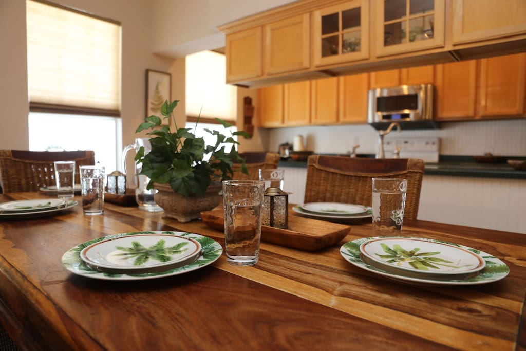 Serve up your fresh caught fish in the comfort of your own vacation home.