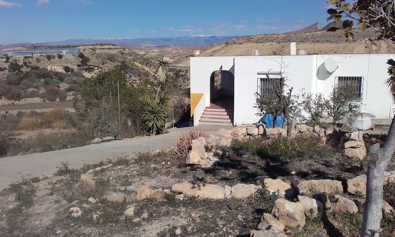 Almería/Pechina Ferienwohnung im Landhaus