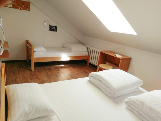 Triple room in DREAM Hostel Poltava