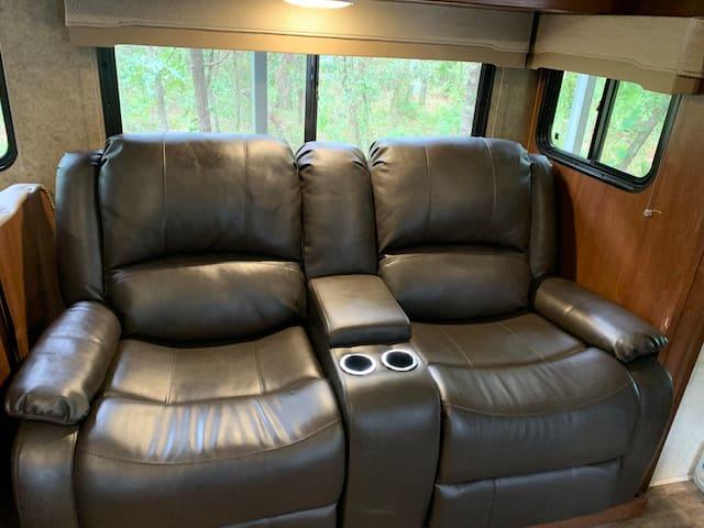 New comfy recliners!