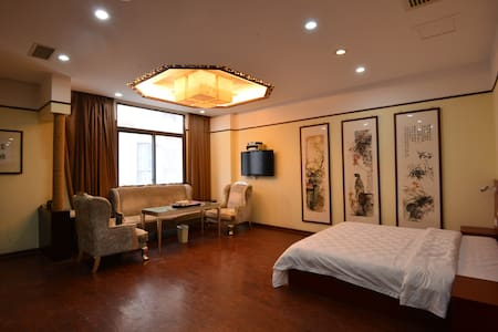 爱T淘互联网客栈豪华套房 - Quanzhou - Appartement